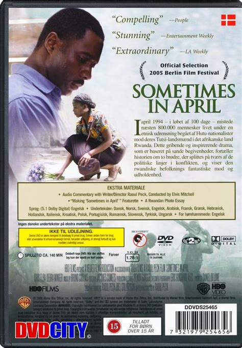Sometimes In April (2005) - dvdcity.dk