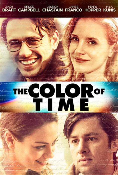 The Color of Time DVD Release Date January 27, 2015