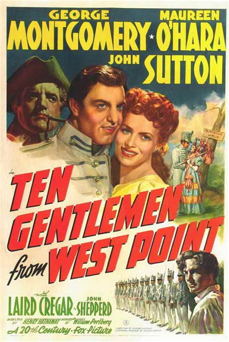 Ten Gentlemen from West Point Movie Posters From Movie ...