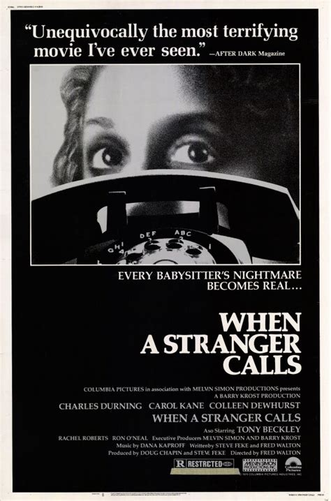 When a Stranger Calls Movie Posters From Movie Poster Shop