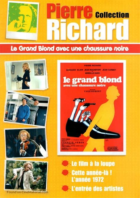 Le grand blond avec une chaussure noire French movie cover