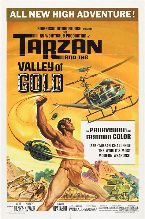Overlooked Movies: Tarzan and The Valley of Gold(1966 ...