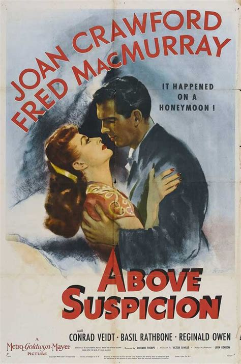 Above Suspicion Movie Posters From Movie Poster Shop