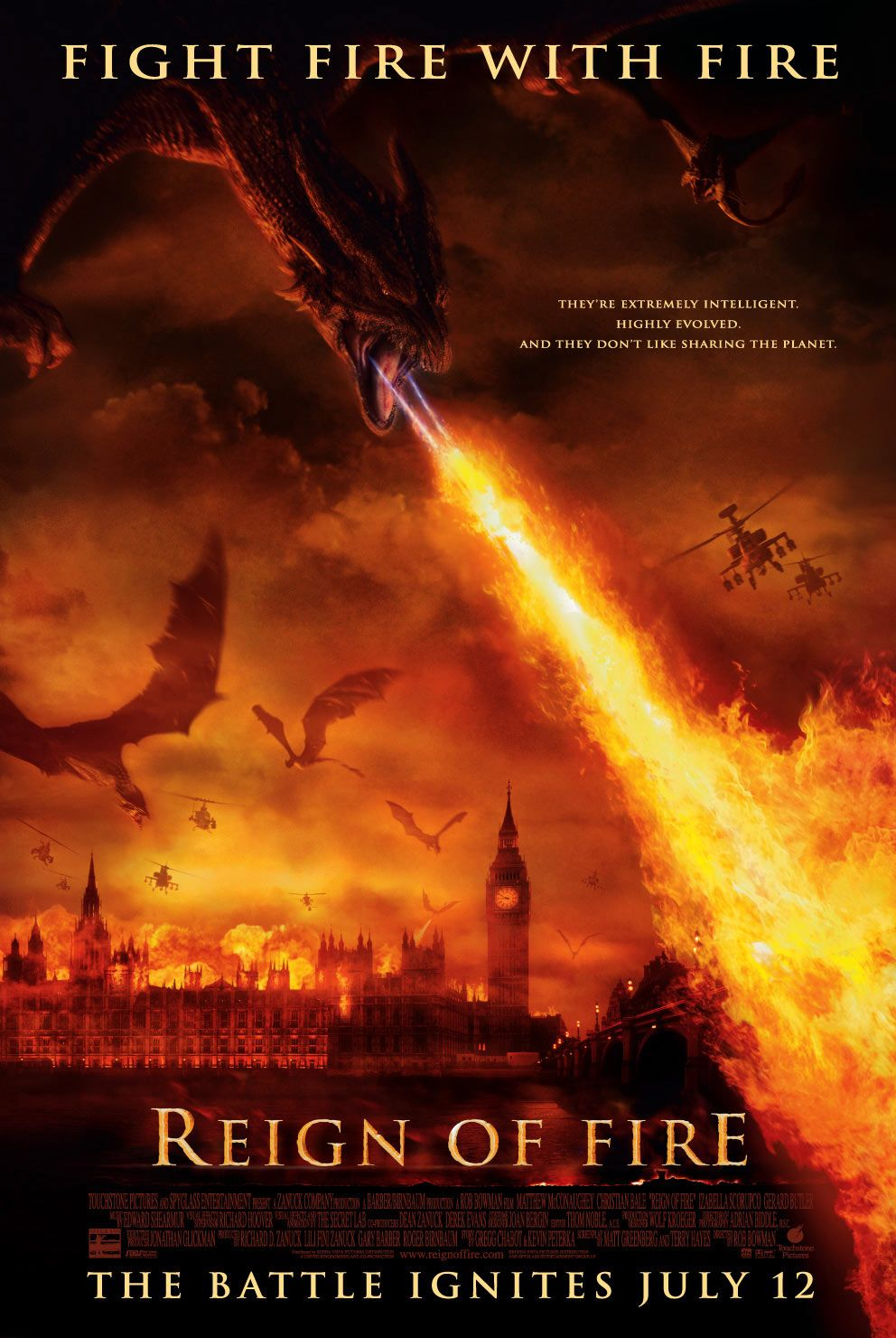 Reign of Fire [2002]