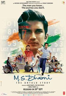 M.S. Dhoni: The Untold Story - Wikipedia