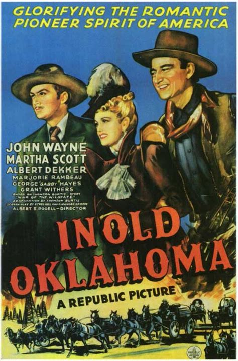 In Old Oklahoma Movie Posters From Movie Poster Shop