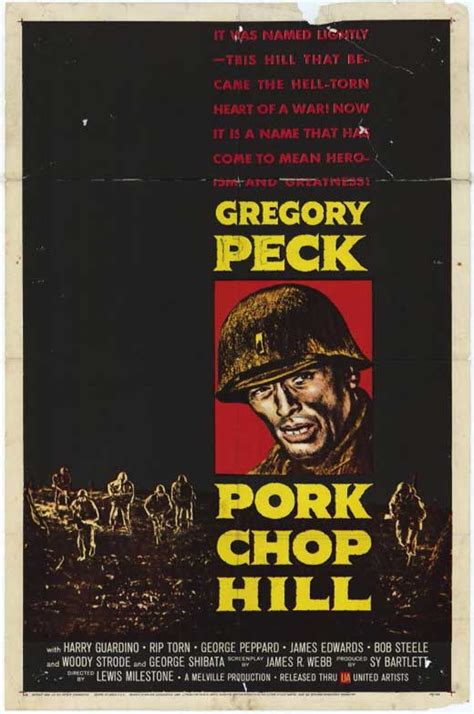 Pork Chop Hill Movie Posters From Movie Poster Shop