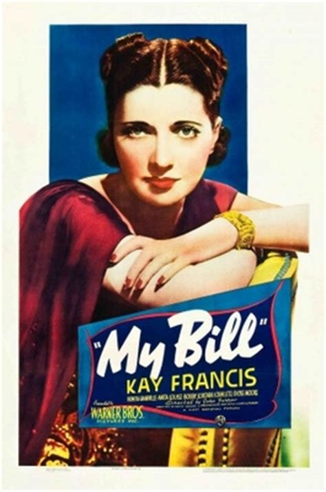 My Bill (1938) movie poster #743030 | MoviePosters2.com