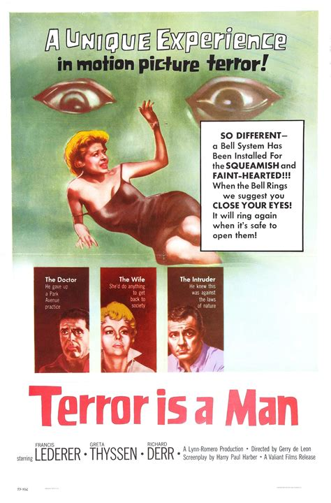 Poster for Terror Is a Man (1959, Philippines / USA ...