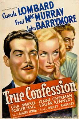File:True Confession- 1937 Poster.png - Wikipedia
