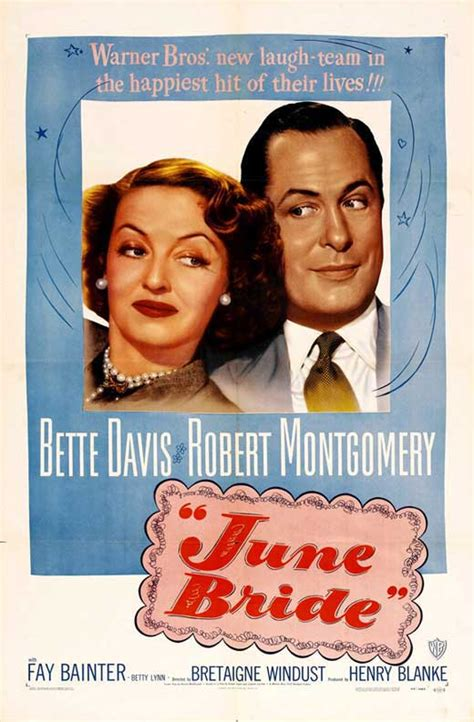 June Bride Movie Posters From Movie Poster Shop