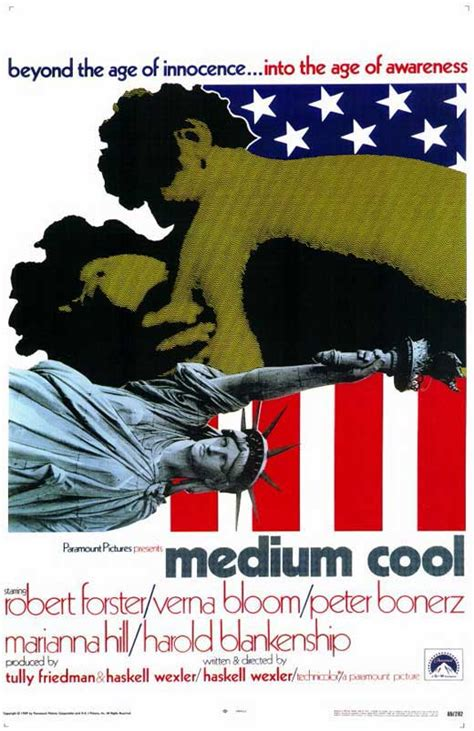 Medium Cool Movie Posters From Movie Poster Shop