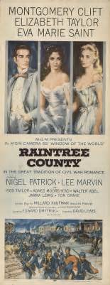 Raintree County 1957 Original Movie Poster Elizabeth ...