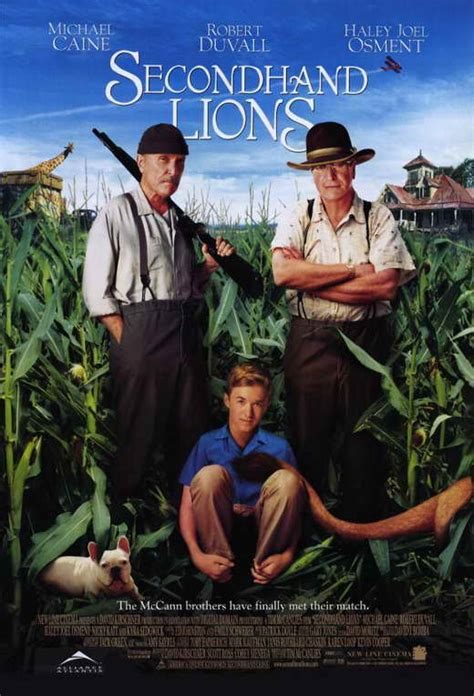Secondhand Lions Movie Posters From Movie Poster Shop