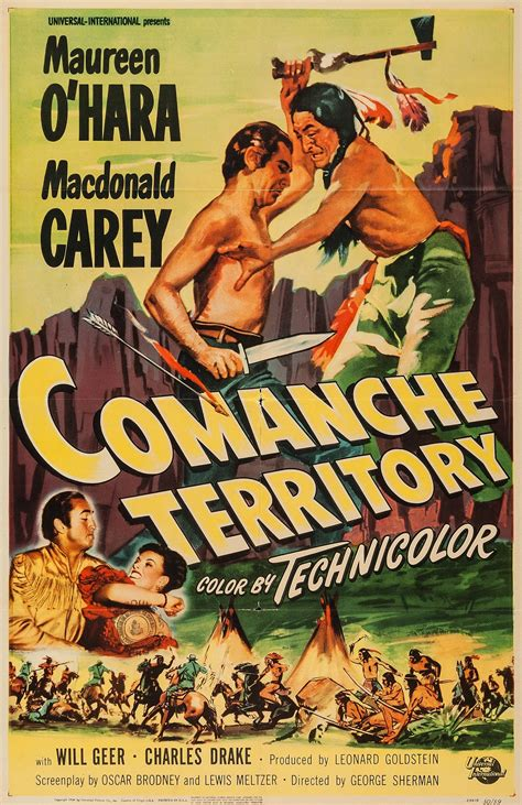 Comanche Territory (1950) - Posters — The Movie Database ...
