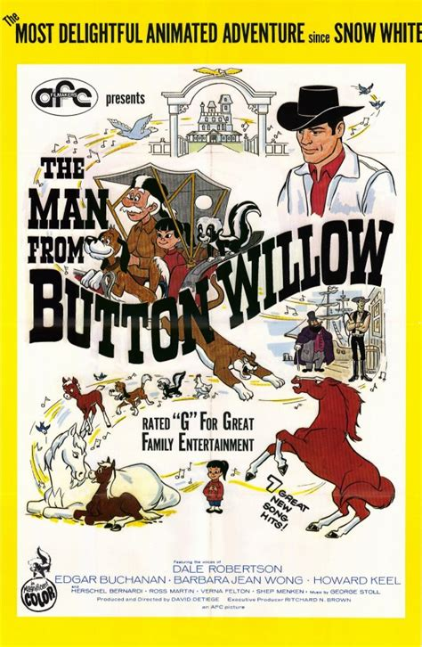 The Man From Button Willow Movie Posters From Movie Poster ...