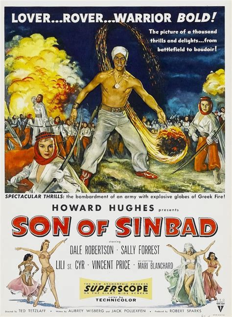 Son of Sinbad movie poster, circa 1955 | Layout RETRO ...