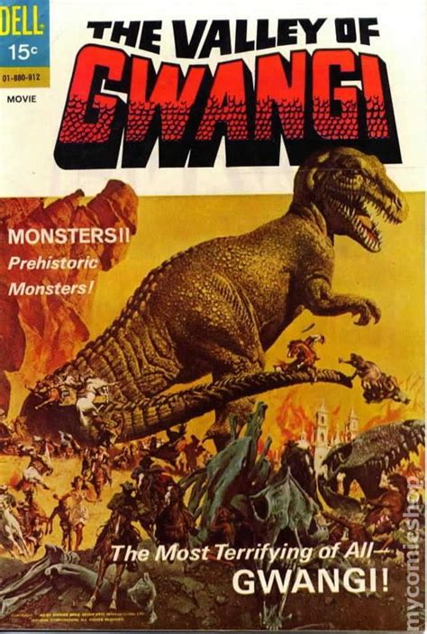 The Valley of Gwangi (1969) Movie Tie-in Comic Book ...