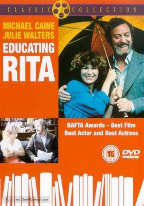 Educating Rita British dvd cover