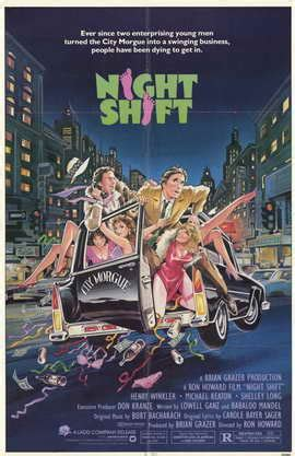 Night Shift Movie Posters From Movie Poster Shop