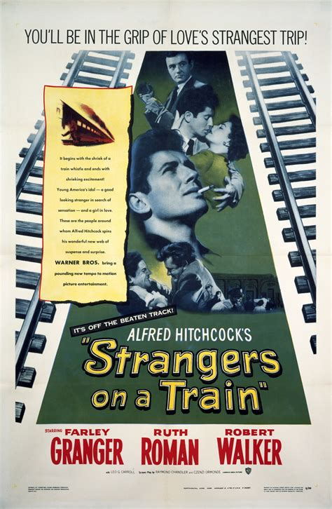 Strangers On A Train Movie Trailer, Reviews and More ...