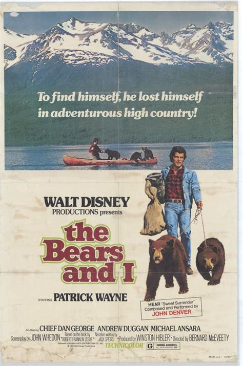 The Bears & I Movie Posters From Movie Poster Shop