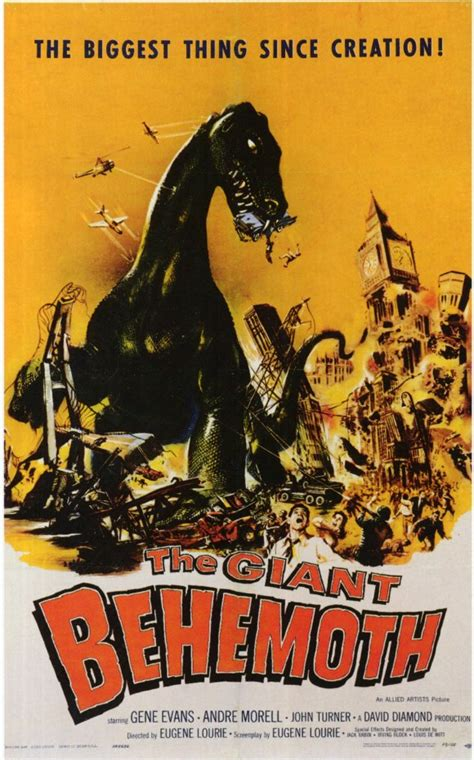 The Giant Behemoth Movie Posters From Movie Poster Shop