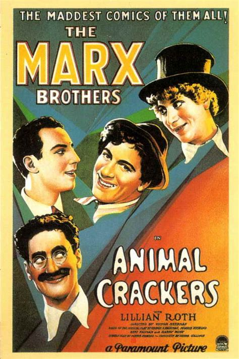 Animal Crackers Movie Posters From Movie Poster Shop