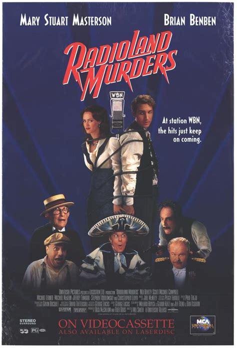 Radioland Murders Movie Posters From Movie Poster Shop
