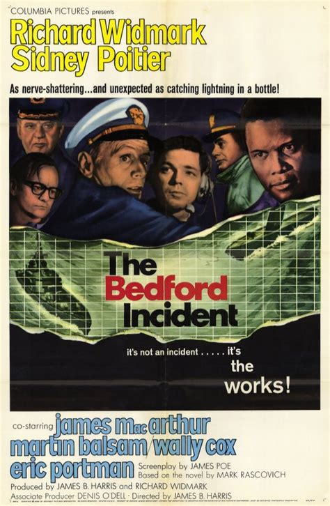Bedford Incident Movie Posters From Movie Poster Shop