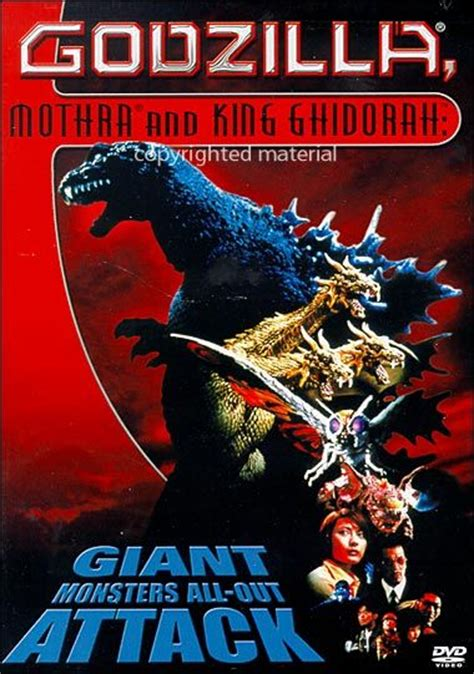 Godzilla, Mothra And King Ghidorah: Giant Monsters All Out ...
