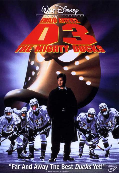 D3: THE MIGHTY DUCKS Movie POSTER 27x40 B Emilio Estevez ...