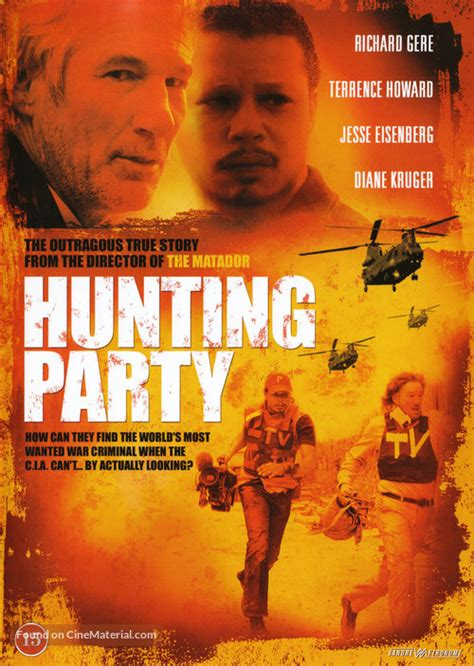 The Hunting Party Danish dvd cover
