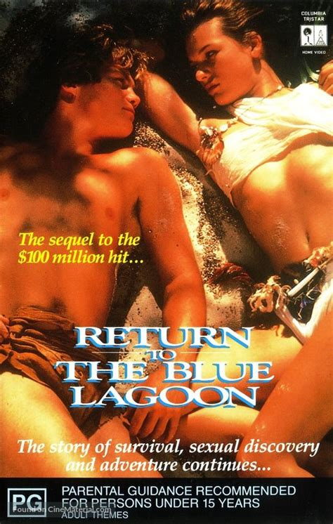 Return to the Blue Lagoon movie cover