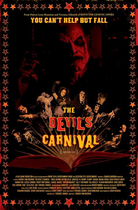 The Devil's Carnival DVD Release Date