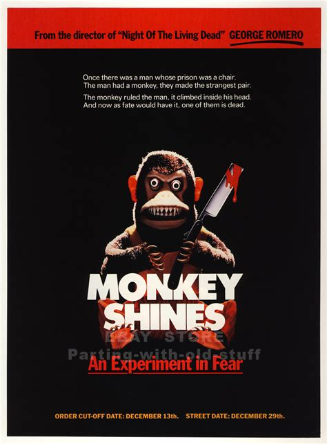 Monkey Shines (1988) Movie