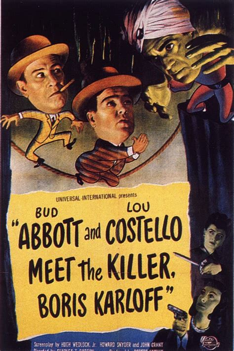 Abbott and Costello Meet the Killer, Boris Karloff (1949 ...