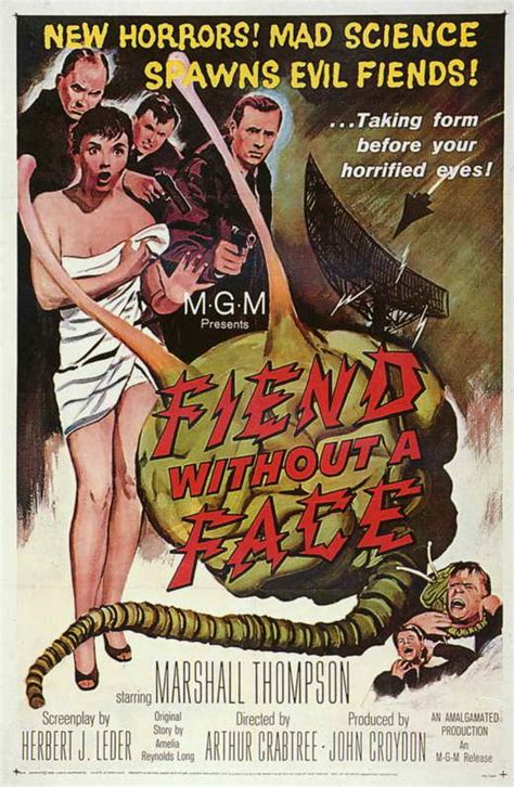 Fiend without a Face Movie Posters From Movie Poster Shop