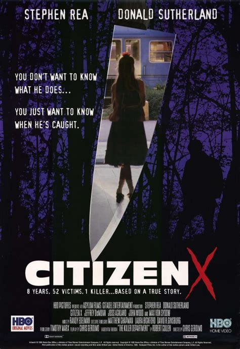 Citizen X Movie Posters From Movie Poster Shop