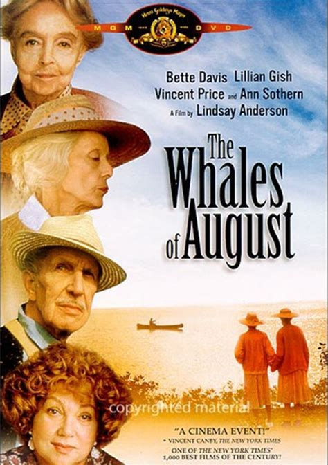 Whales Of August, The (DVD 1987) | DVD Empire