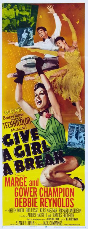 Give a Girl a Break movie poster (1953) Poster. ID MOV ...