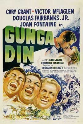 Gunga Din Movie Posters From Movie Poster Shop