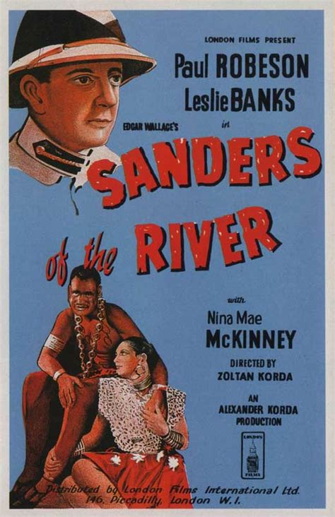 Sanders of the River Movie Posters From Movie Poster Shop