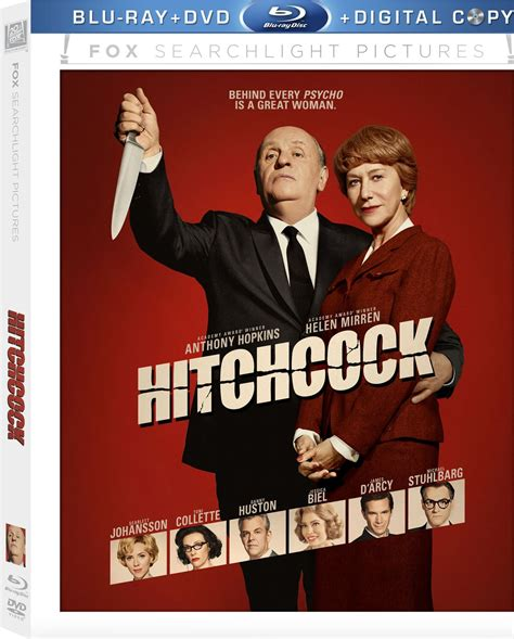 Hitchcock DVD Release Date March 12, 2013
