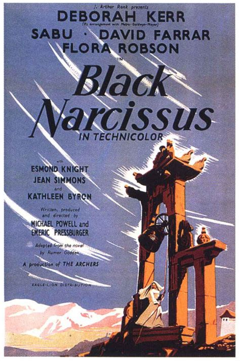 MOVIE POSTERS: BLACK NARCISSUS (1947)