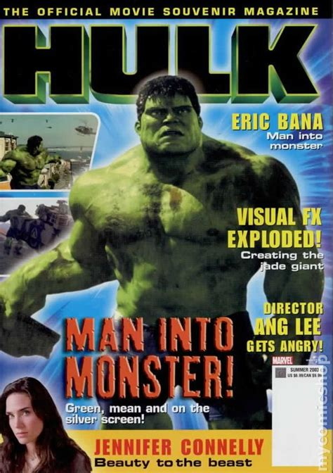 Hulk Movie Official Magazine (2003) comic books
