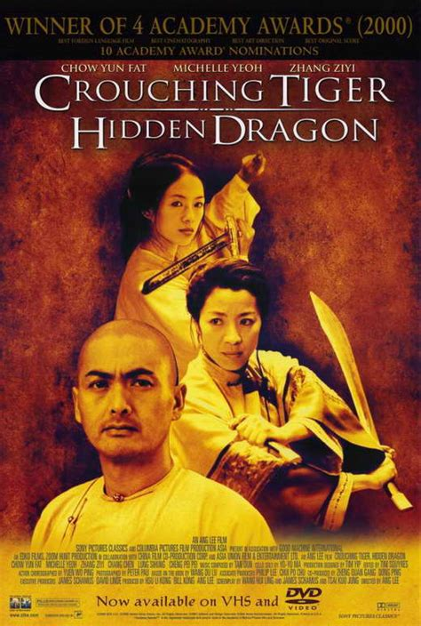 Crouching Tiger, Hidden Dragon Movie Posters From Movie ...