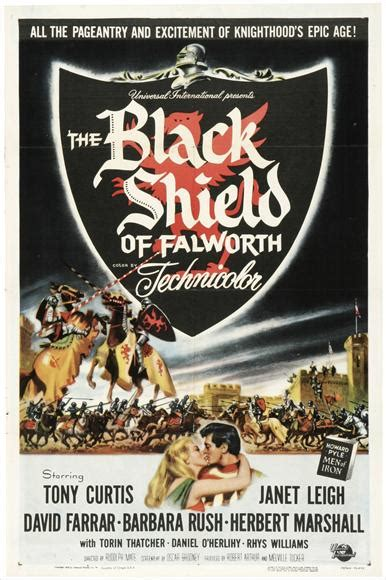 The Black Shield of Falworth Movie Posters From Movie ...