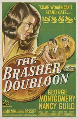 The Brasher Doubloon - Wikipedia