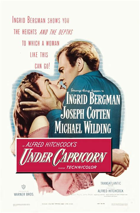 Alfred Hitchcock Blogathon – Under Capricorn (1949 ...